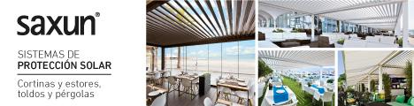 Pérgolas bioclimáticas Saxun: nuevos espacios perfectamente iluminados y protegidos