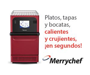 Apúntate a una masterclass gratuita de los hornos de cocción acelerada Merrychef