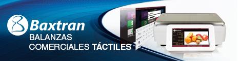 Baxtran: balanzas comerciales con pantalla táctil