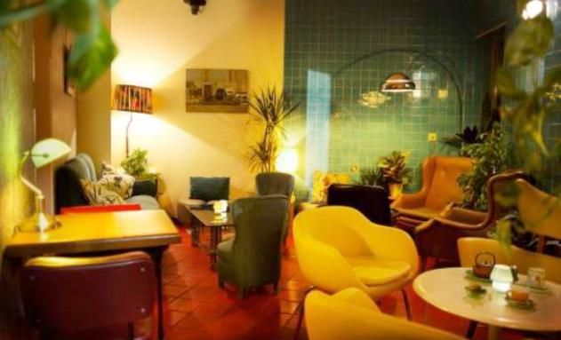 Salones del nuevo Anticafé