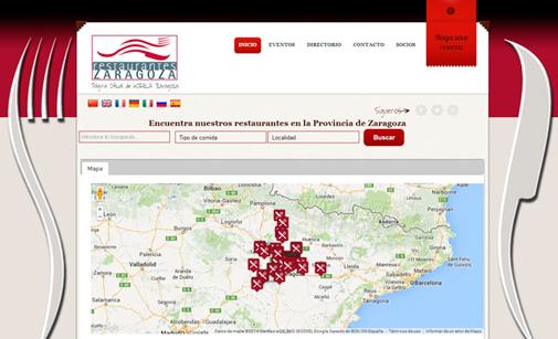 Home de la nueva web de Horeca Zaragoza