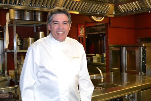 Evaristo Triano, un chef experto en arroces y paellas