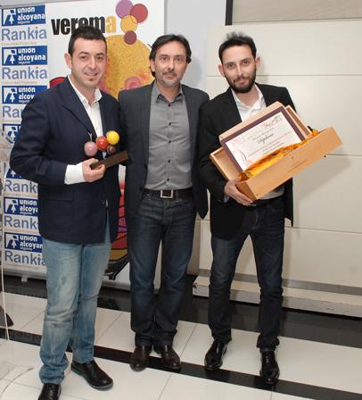 Ricard Camarena y Joan Rabasa recogen el premio