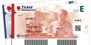¡Los Ticket Restaurant ahora son rojos!