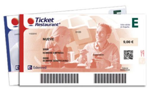 Los Ticket Restaurant ahora serán rojos