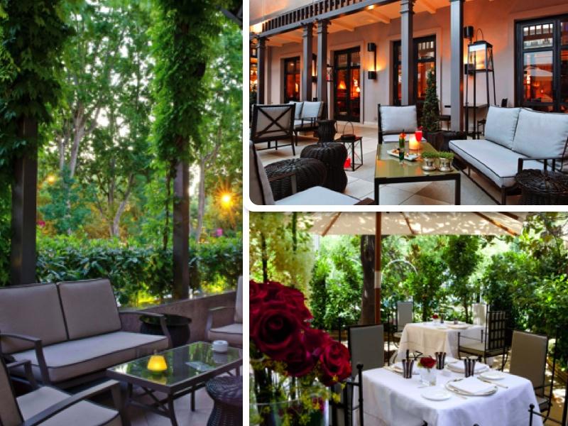 Terrazas del hotel Villa Magna