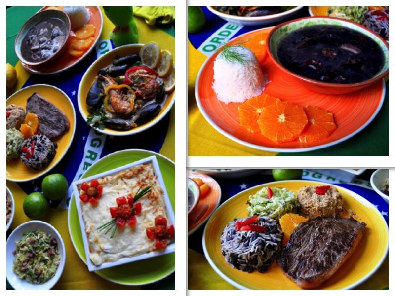 Coloristas y auténticos platos brasileños en Bristolbar