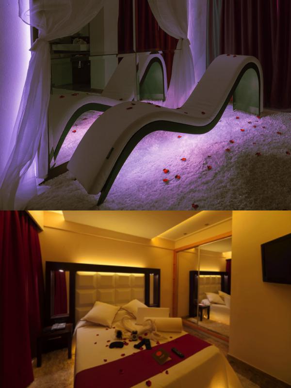 Las dos estancias de La suite Margarita Bonita en el hotel Mediterraneab Bay de Mallorca