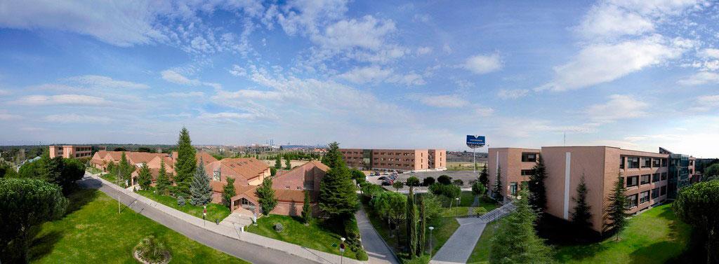 El campus de la Universidad Francisco de Vitoria