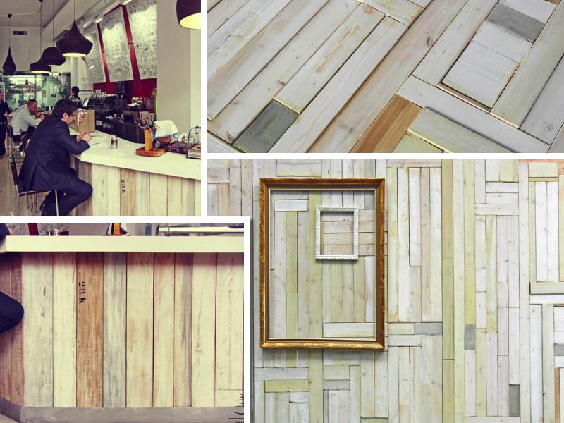 Revestimientos de madera de Zigurat