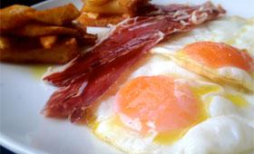 Huevos fritos congelados, empresa vitorianaFood Style