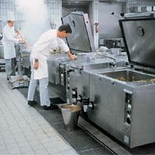 Para las cocinas profesionales, los canales Aco se suministran ya listos para su colocación
