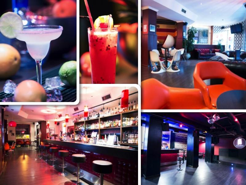 Dos ambientes y cuidada coctelería en el madrileño Tempo Club