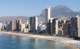 Benidorm, destino español más demandado por el turismo británico