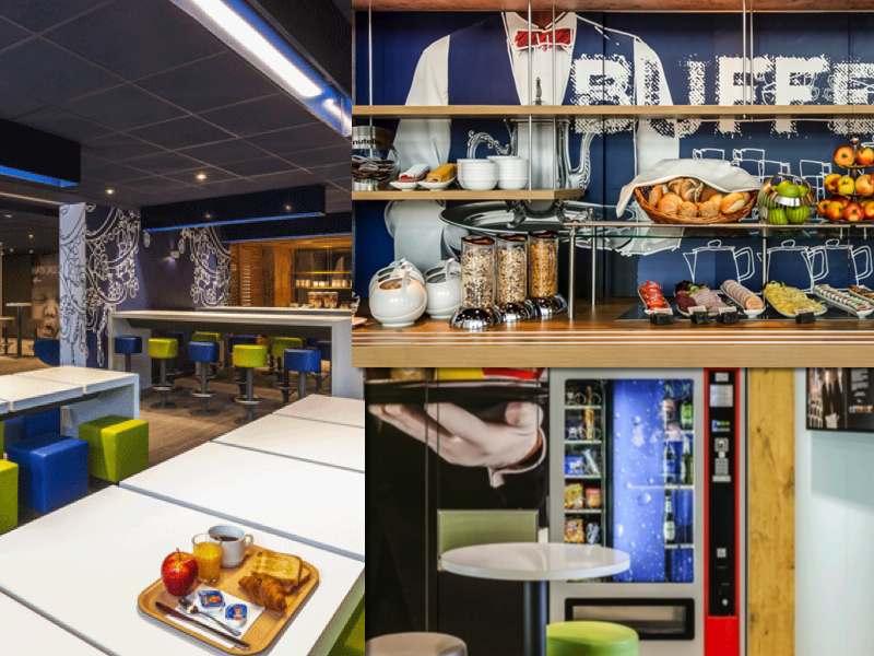 Un completo y atractivo buffet de desayuno; mesas amplias y zona vending en los nuevos Ibis Budget