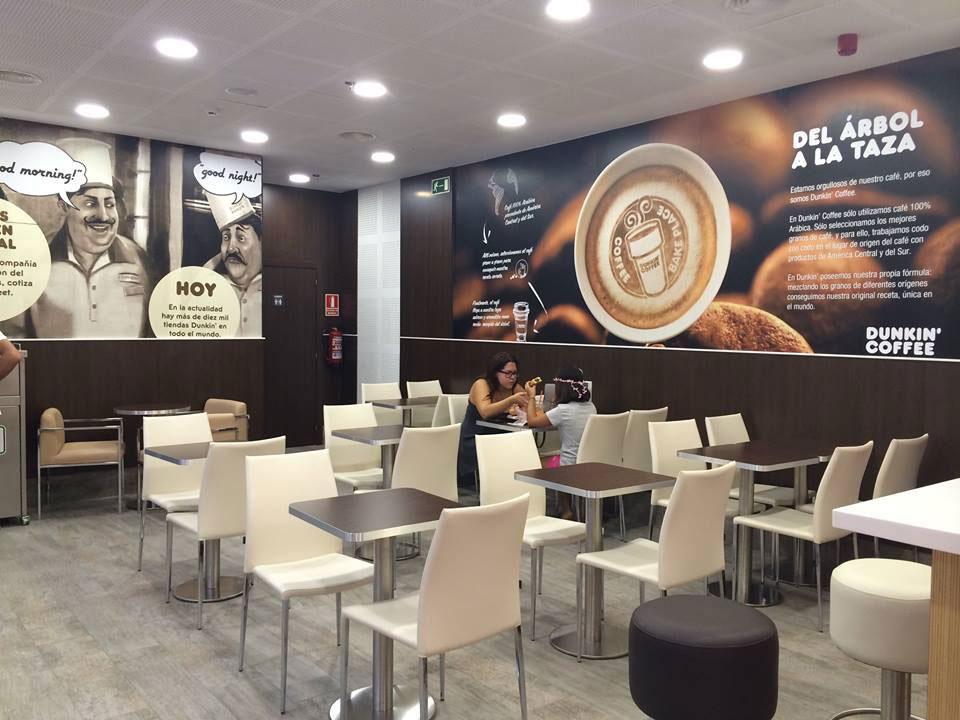 Establecimiento de Dunkin' Coffee