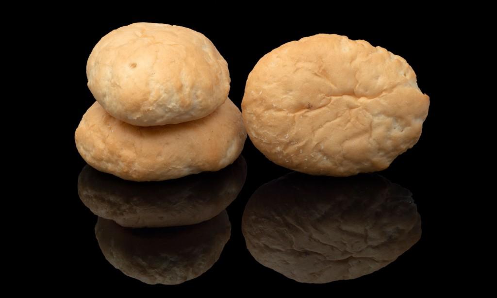 Pan de mini hamburguesa sin gluten