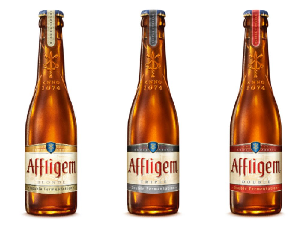 Las tres variedades de Affligem
