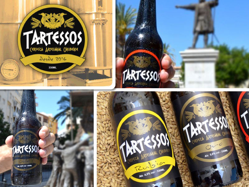 Las diferentes cervezas artesanales de Tartessos