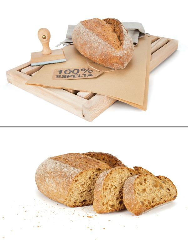 Pan rústico de espelta y miel, de Chousa