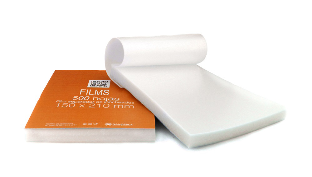 Un práctico bloc o cuaderno de film separador