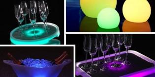 Las numerosas posibilidades de la luz Led decorativa en hostelería