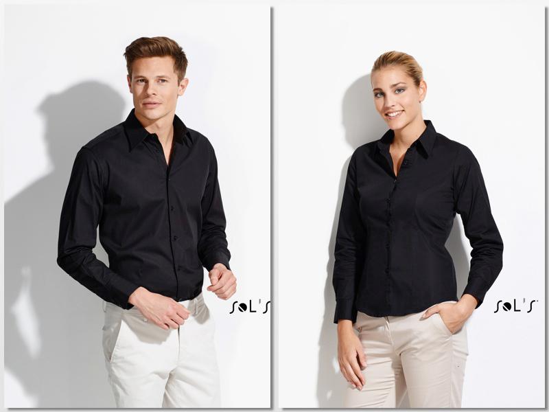 Camisa entallada Sol's para hombre y mujer