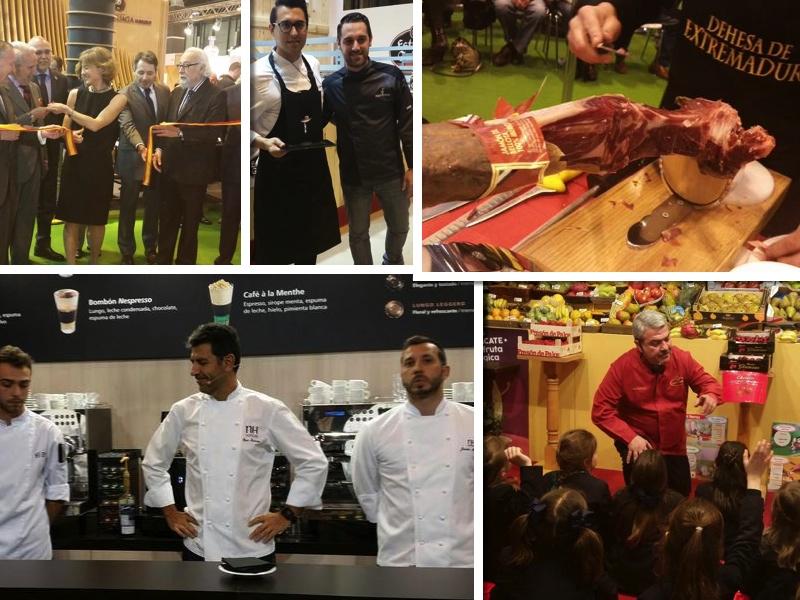 Diferentes momentos del Salón de Gourmets 2015