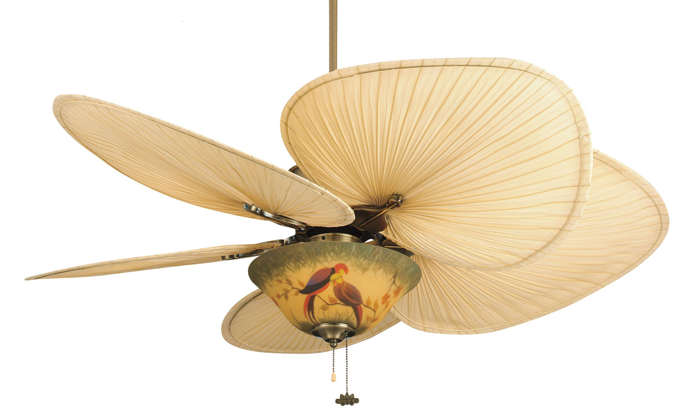 Ventiladores decorativos de est tica vintage profesional - Lamparas de techo con ventilador ...