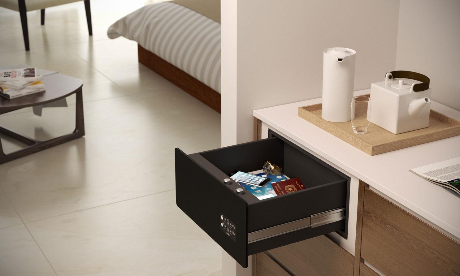 Caja Safe Drawer, en forma de cajón
