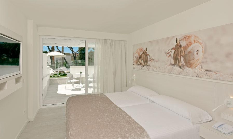 Así es una de las nuevas habitaciones del Iberostar Royal Cristina