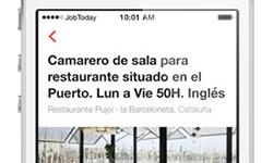 Nueva app para encontrar empleo en hostelería y turismo