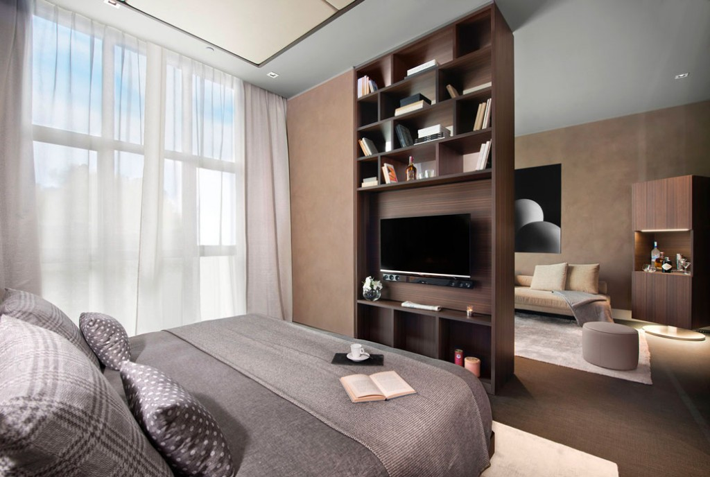 Habitación del Me Milan