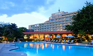 El hotel Occidental El Embajador, en Santo Domingo, República Dominicana