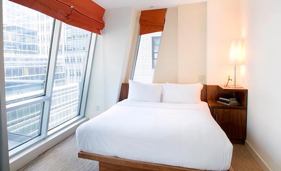 Lencería de cama de Resuinsa en el hotel The Gotham (Nueva York)