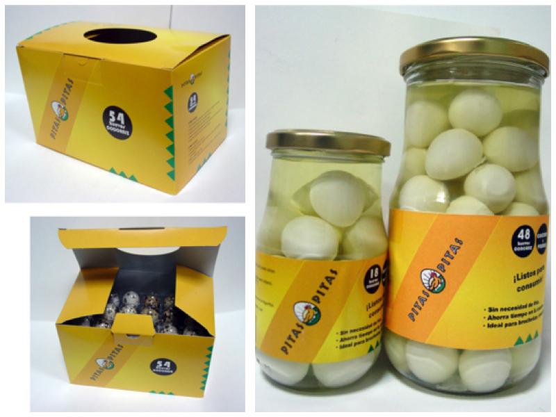 Huevos de codorniz Pitas