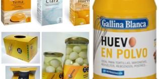 Ovoproductos para horeca: huevo líquido y en polvo, y huevos de codorniz