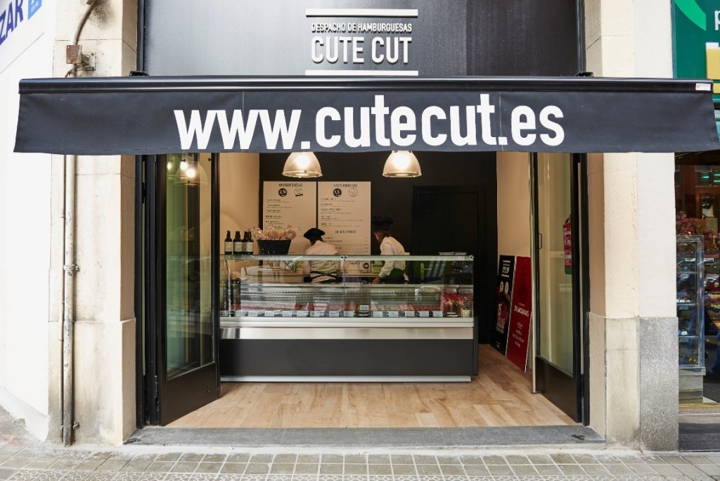 El despacho de hamburguesas Cute Cut, en Bilbao