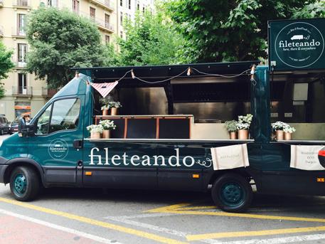 El food truck de El Filete Ruso