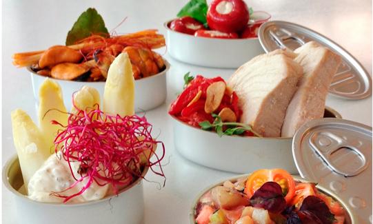 Algunas propuestas de la carta de laterío gourmet de Casa Lobo