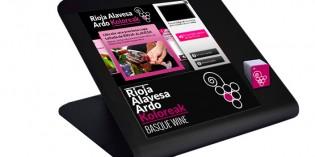 Nuevas tecnologías: así interactúan los vinos de Rioja Alavesa en el punto de venta