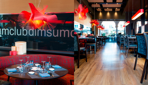 Interiores de Dimsum Club