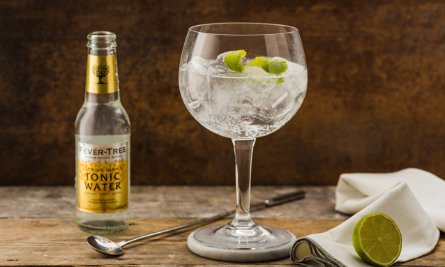 Tónica Fever-Tree y gin-tonic