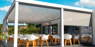 Cuatro pérgolas de última generación para establecimientos hosteleros