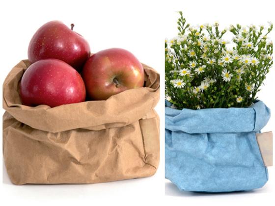 Bolsas rústicas perfectas para el pan, fruta o flores