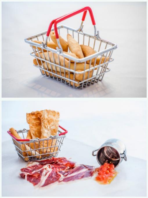Mini cesta de la compra
