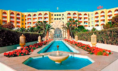 Fachada del hotel Riu Imperial Marhaba