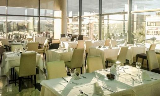 Vista del comedor del restaurante