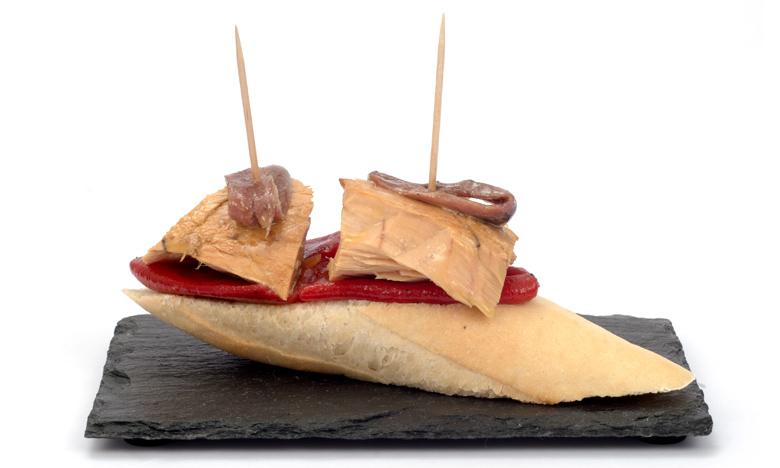 Pan para pintxos de Ibepan