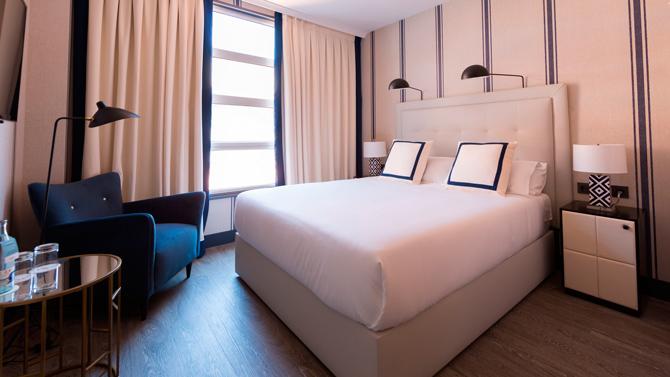 Habitación del hotel Mercure Bilbao Jardines de Albia